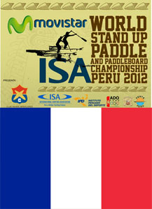 ISA World Stand Up Paddle Championships FRENCH TEAM