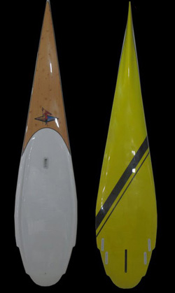 South County's Freebird Banshee Stand Up Paddle race board
