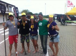 King & Princess of the Olympic Canal - Stand Up Paddle Race