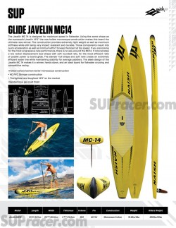 Naish Javelin MC14 Stand Up Paddle board