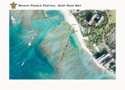 Survivor SUP Race (Waikiki Paddle Festival)