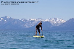 Kody Kerbox // Thunderbird Run Stand Up Paddle race @ Lake Tahoe