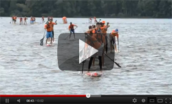 Lost Mills Stand Up Paddle Race VIDEO