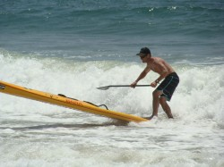 Jim Terrell @ the Santa Monica Pier Paddle