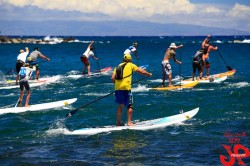 2012 Triple Crown of SUP @ Maliko