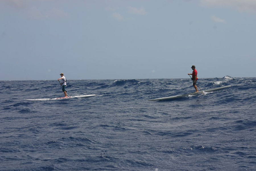 Triple Crown of SUP - Maui to Molokai - Connor Baxter & Dave Kalama