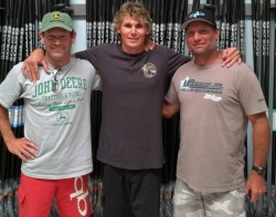 Jim Terrell, Jamie Mitchell and Dave Kalama