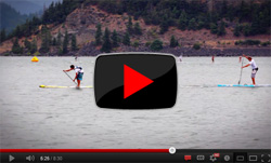 Gorge Paddle Challenge - Kai Lenny SUP race video