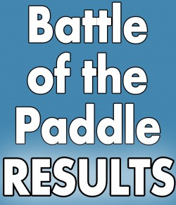 2012 Battle of the Paddle Results