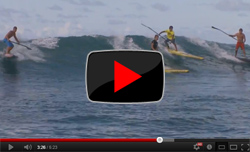 SUP World Series Sprint Race at Turtle Bay