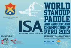 2013 ISA World Standup Paddle and Paddleboard Championship POSTER