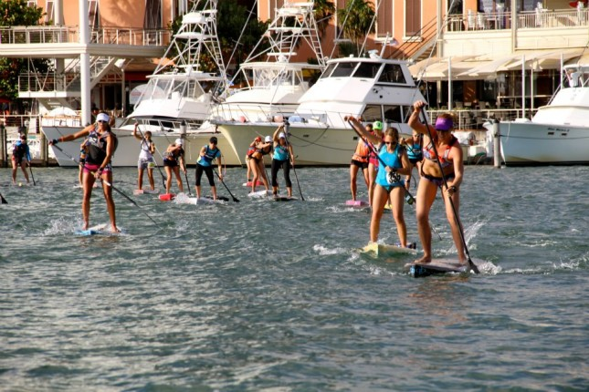 Orange Bowl SUP race