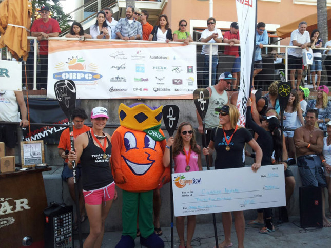 Candice Appleby Orange Bowl SUP Race