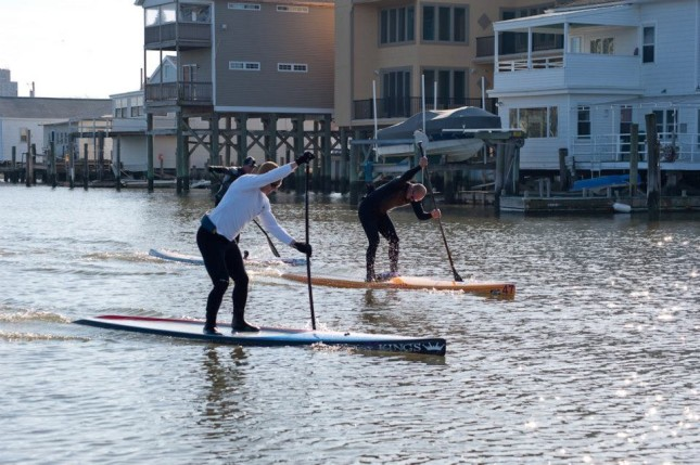 Freezin For A Reason Stand Up Paddle race
