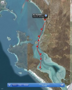 Langebaan Dash SUP race