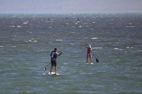 Langebaan Dash SUP race in South Africa