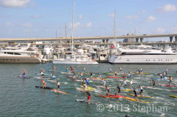 2013 Orange Bowl SUP Race Results