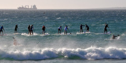 SUP Racing in South Africa - 2013 - Downwind Dash #2