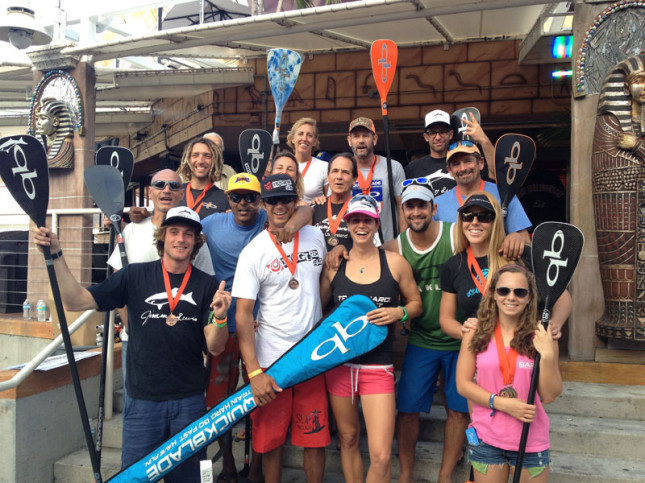 Team Quickblade won plenty of medals today (photo © Quickblade Paddles)