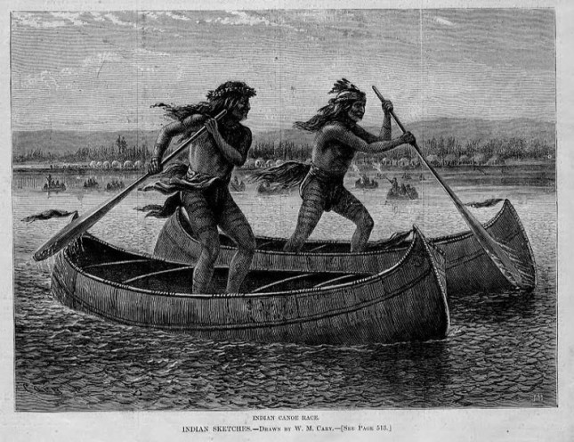 Traditional Indian Canoe Race