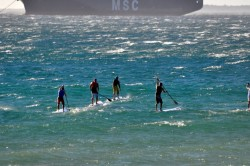 Downwind Dash Series - SUP Racing in South Africa