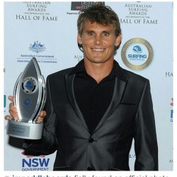 Jamie Mitchell Surfing Australia awards