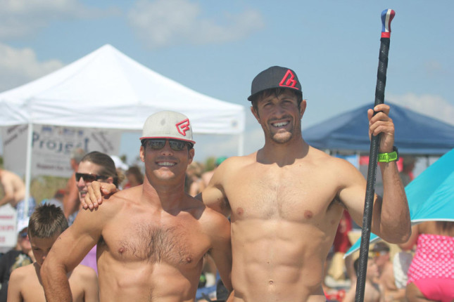 Chase Kosterlitz and Matthew McDonald looking slightly ripped...