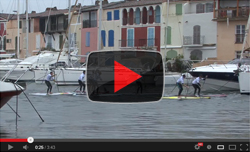 Hobie City SUP Race video 2013