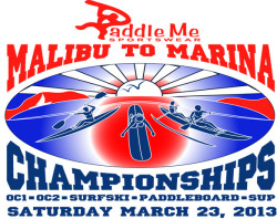 Paddle Me Marina To Malibu Race