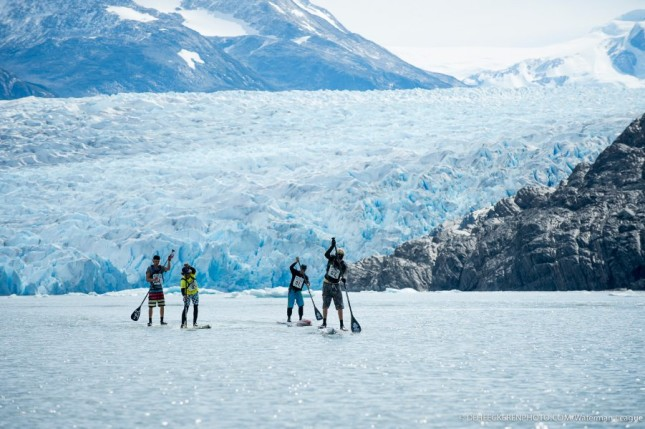 SUP Race in Patagonia