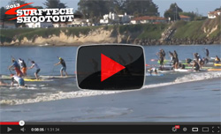 2013 Surftech Shootout SUP Race