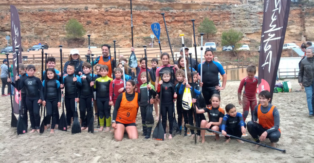 2013 Port Adriano Kids SUP Race