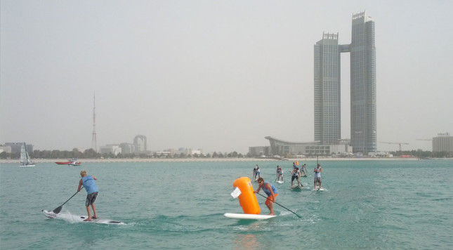 Abu Dhabi All-Stars SUP Race 2013