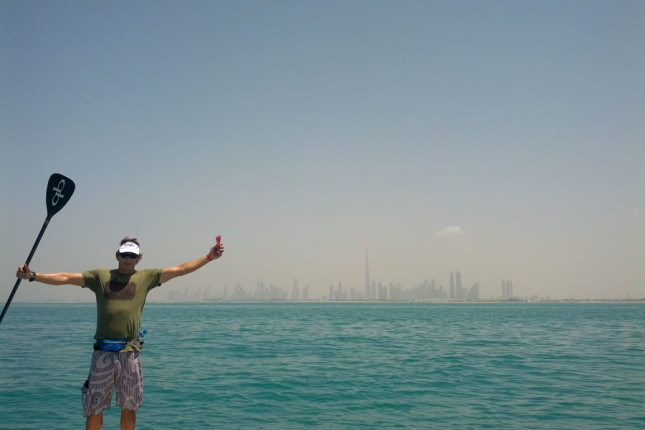 Paddle Around The World Dubai