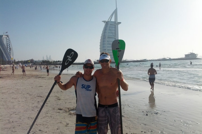 Paddle Round The World - Boss Man and Jamie Mitchell