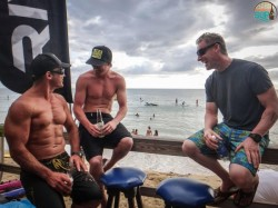Riviera at the Rincon Beachboy Classic SUP Race in Puerto Rico