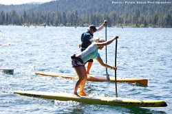 2013 Donner Lake SUP race