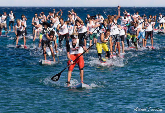 2013 SUP Race Cup beach race