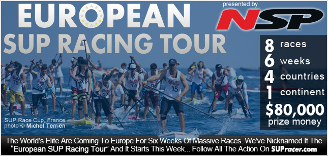 European SUP Racing Tour presented by NSP