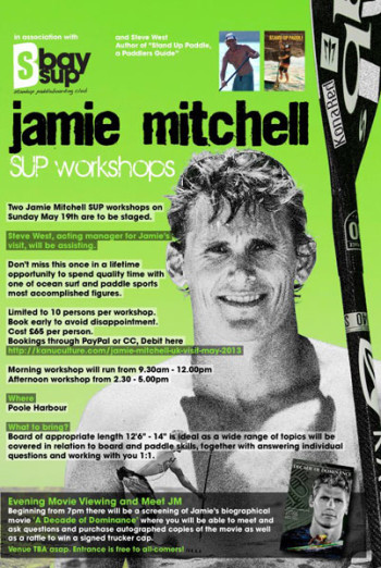 Jamie Mitchell SUP Clinics UK