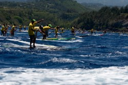 OluKai Stand Up Paddle race
