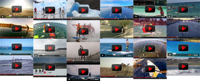 Stand Up Paddling videos