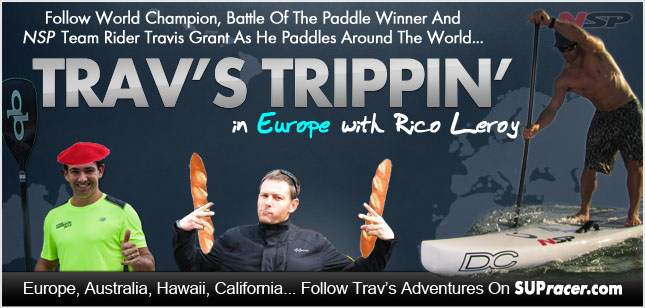 Trav's Trippin' in Europe with Rico Leroy