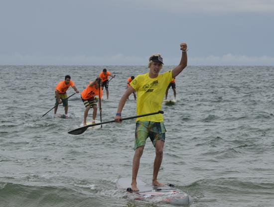 Connor Baxter WINS Oleron