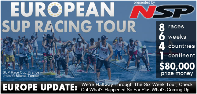 European SUP Racing Tour update