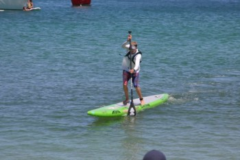 Connor Baxter Da Hui Paddle Race
