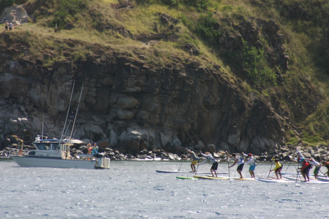 Maui to Molokai Stand Up Paddleboard race