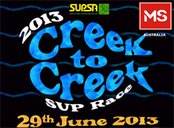 Creek to Creek Stand Up Paddle race