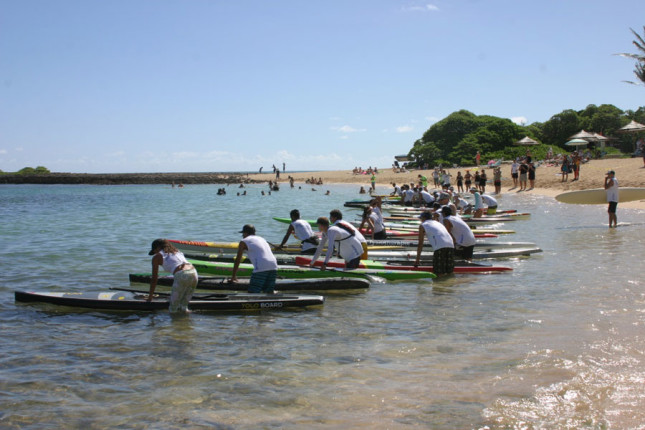 Da Hui Stand Up Paddle race