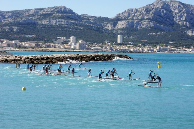 Massilia Stand Up Paddle race